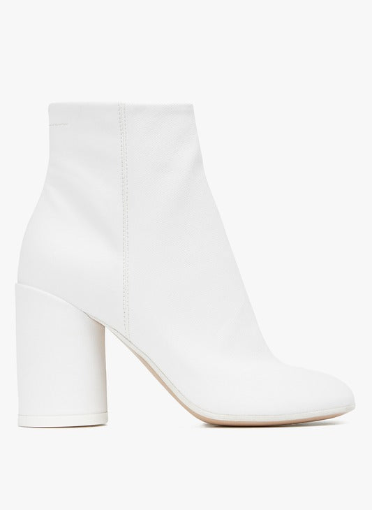 [MM6 Maison Margiela] MM6 메종 마르지엘라 Bottines en cuir à talon 6 / 3색상
