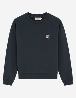 [MAISON KISUNE] 메종 키츠네 (SWEATSHIRT FOX HEAD PATCH) / 2색상