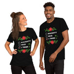 I_Tried_Short_Sleeve_Unisex_T_Shirt_naughty_nice_tried_Christmas_holiday_funny_Dragon_Brotherhood