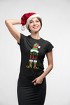 Mama_Elf _Women's_short_sleeve_t_shirt_Christmas_holiday_funny_elf_mama_t_shirt