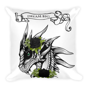 Dream-Big-Dragon-and-Black-Roses-Square-Pillow-Throw-Pillow-Epic-Room-Decor-Dragon-Brotherhood