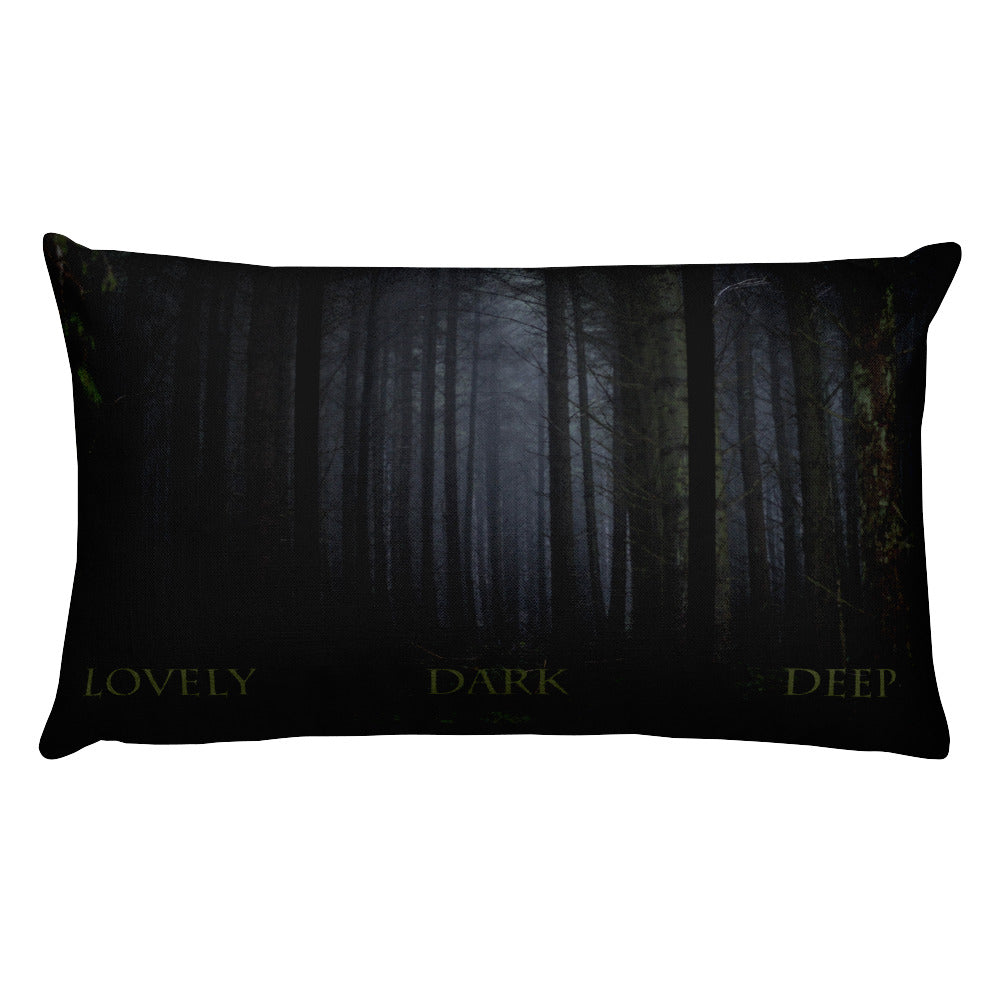 Lovely-Dark-Deep-Woods-Rectangular-Throw-Pillow-Home-Decor-Dragon-Brotherhood