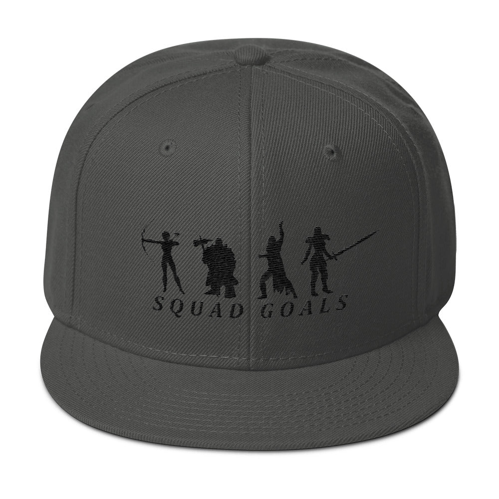 Squad_Goals_gamer_larp_cosplay_Premium_Snapback_Hat_Dragon_Brotherhood