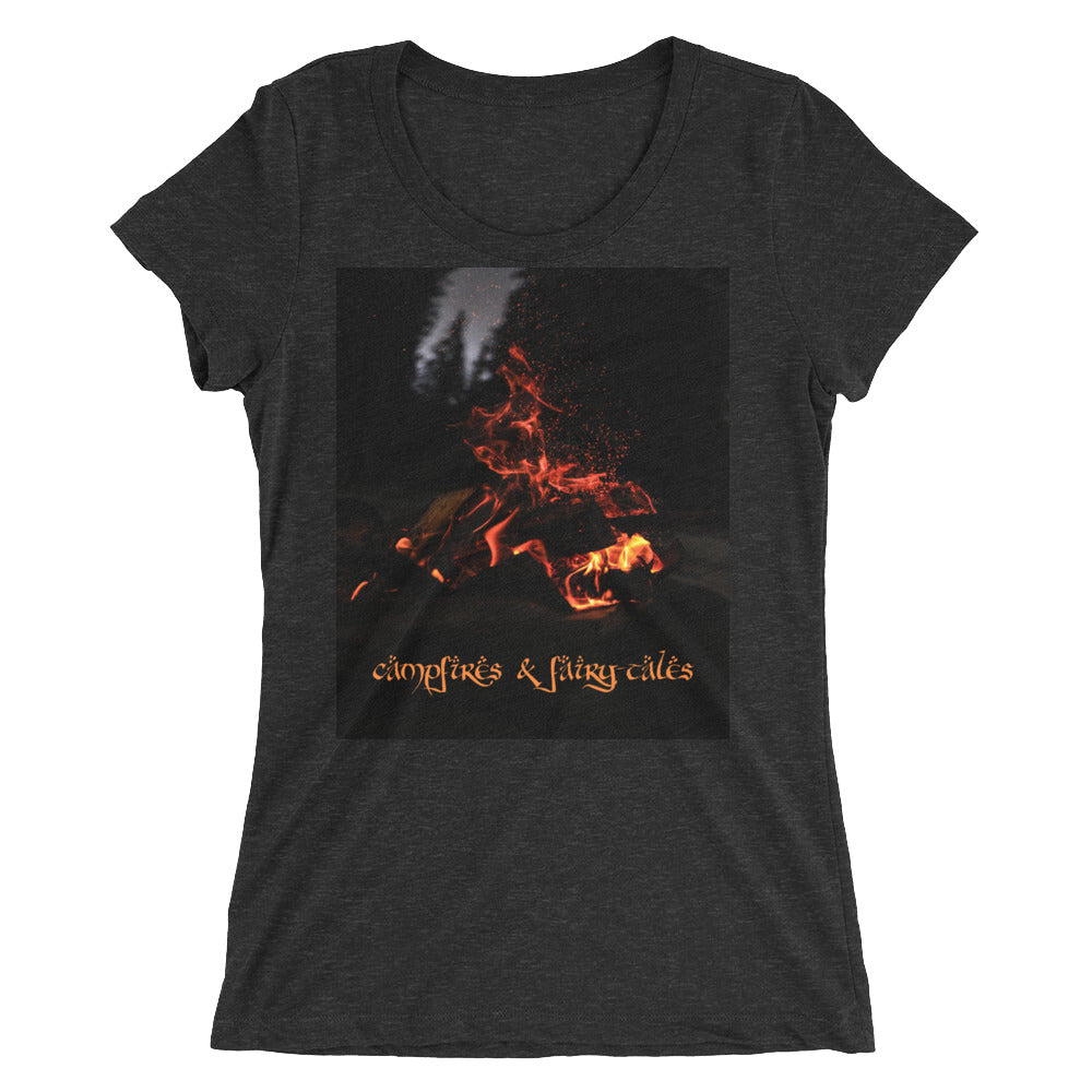 Campfires_&_Fairy-tales_Ladies'_short_sleeve_t-shirt_camping_outdoors_adventure_Dragon_Brotherhood