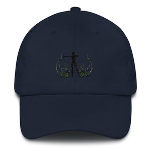 Huntress_Hunter_Ranger_Archer_Archery_Baseball_cap_Premium_Dad_Hat_Dragon_Brotherhood