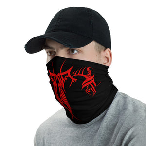 Black_+_Red_Ninja_Face_Mask _Red_and_Black_Cloth_Face_Mask_Red_and_Black_Cyberpunk_Face_Shield_Washable_Face_Mask_Reusable_Face_Mask