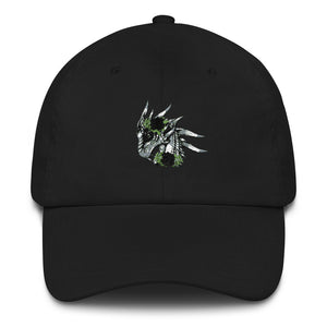 Dragon-with-Black-Roses-Dad-hat-Dragon-Brotherhood