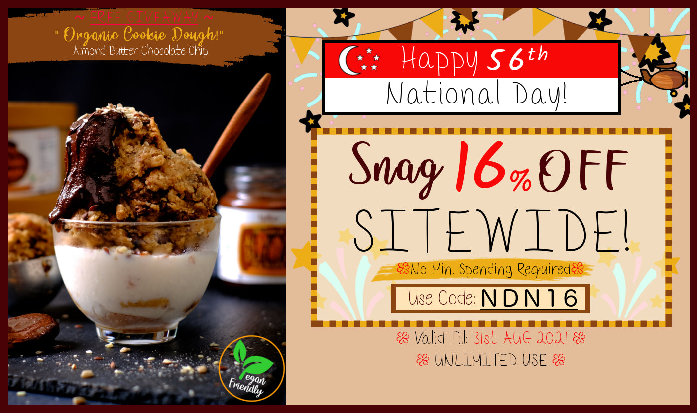 Nuttier National Day Sale