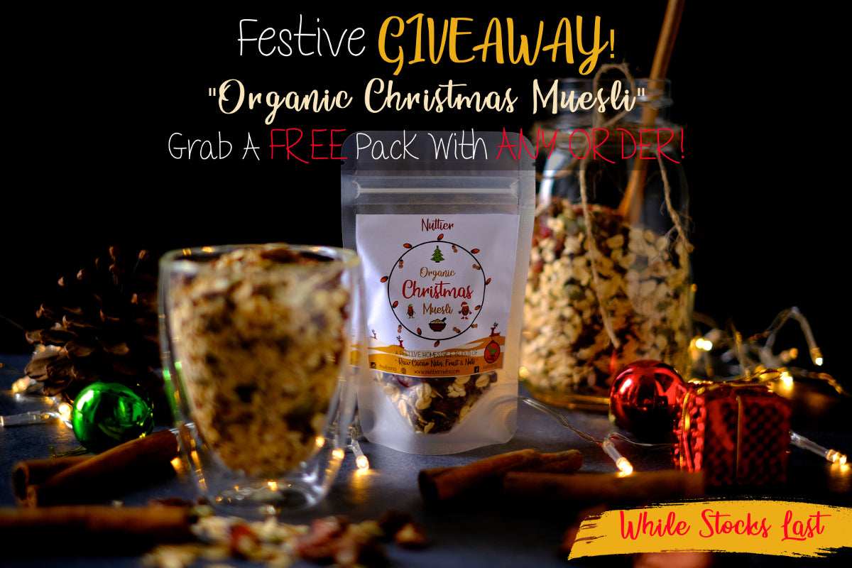 Nuttier Christmas Giveaway