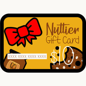 Nuttier e-Gift Cards