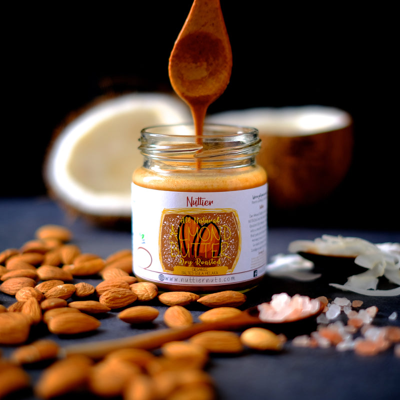 Nuttier All Natural Organic Salted Gula Melaka Almond Butter Vegan Friendly Crafted In Singapore