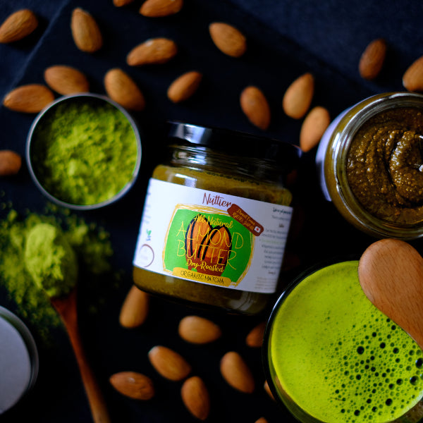 Nuttier Organic Matcha Almond Butter Crafted in Singapore