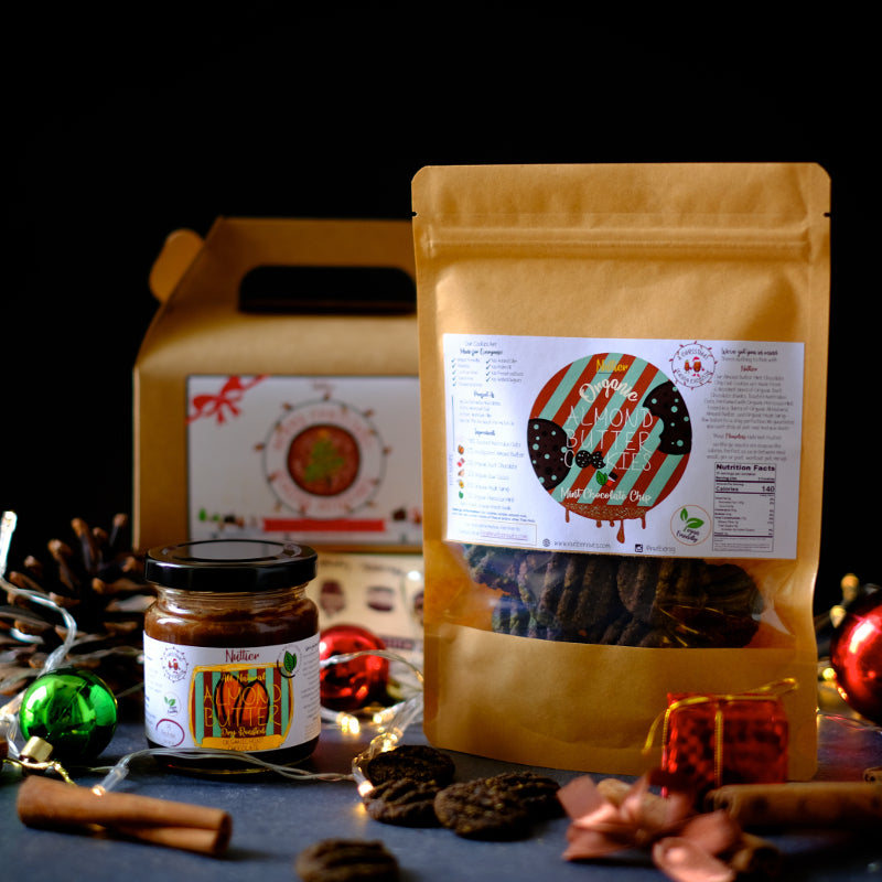 Nuttier Organic Mint Chocolate Christmas Bundle Crafted In Singapore