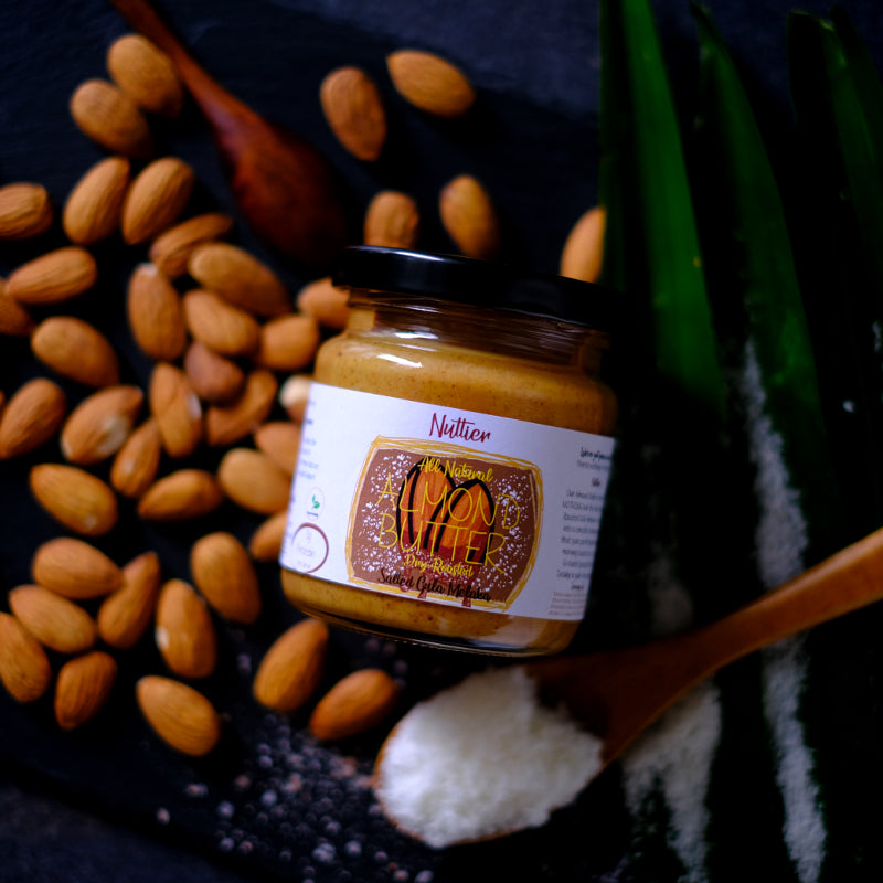 Nuttier All Natural Organic Salted Gula Melaka Almond Butter Crafted In Singapore