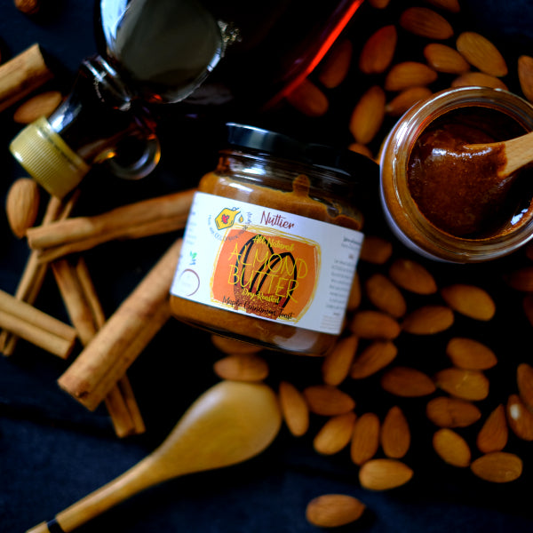 Nuttier All Natural Organic Maple Cinnamon Toast Almond Butter Crafted In Singapore