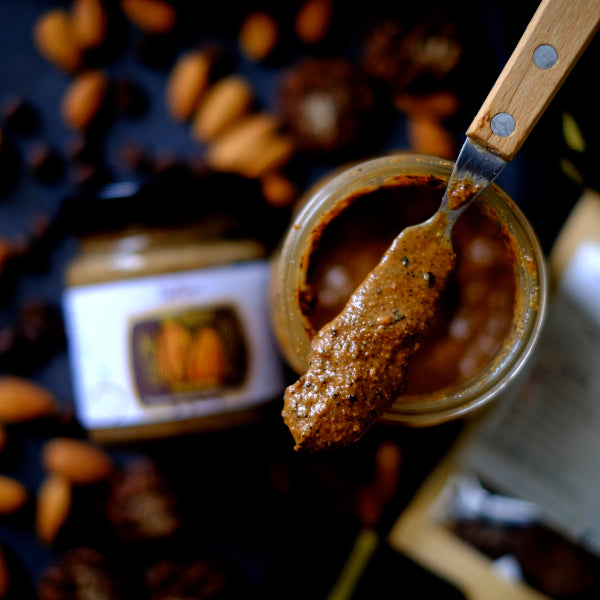 Nuttier All Natural Organic French Vanilla Espresso Almond Butter Crafted In Singapore