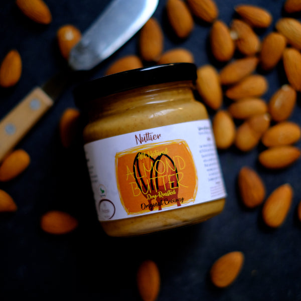 Nuttier All Natural Organic Almond Butter Crafted In Singapore