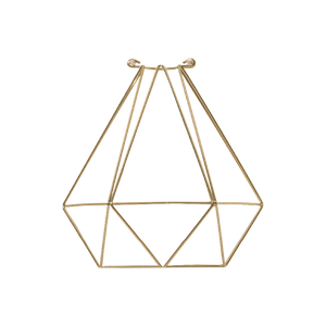 Brass Diamond Cage