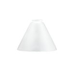 Frosted Glass Cone Shade