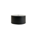 "Black 5"" Drum Shade"