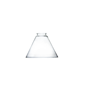 Clear Glass Cone Shade