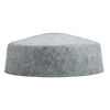 "Grey 16"" Dome Felt Shade"