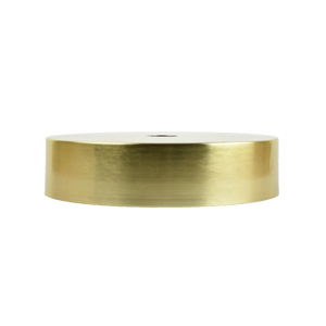 "Brass 12"" Drum Shade"