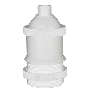 Threaded White Socket