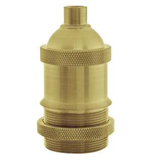 Threaded Brass Socket