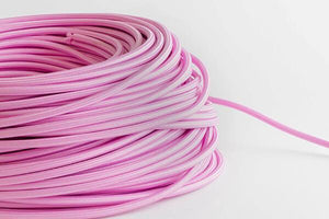 Bubblegum Fabric Cord by the Foot Hangout Lighting