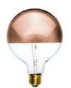 "Bulb: LED Copper Dipped 5"" Globe Mix Match Lighting"