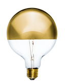 "Bulb: LED Gold Dipped 5"" Globe Mix Match Lighting"