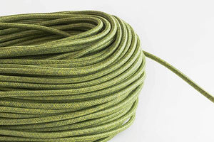 Green Tweed Fabric Cord by the Foot Hangout Lighting
