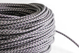 Grey Tweed Fabric Cord by the Foot Hangout Lighting
