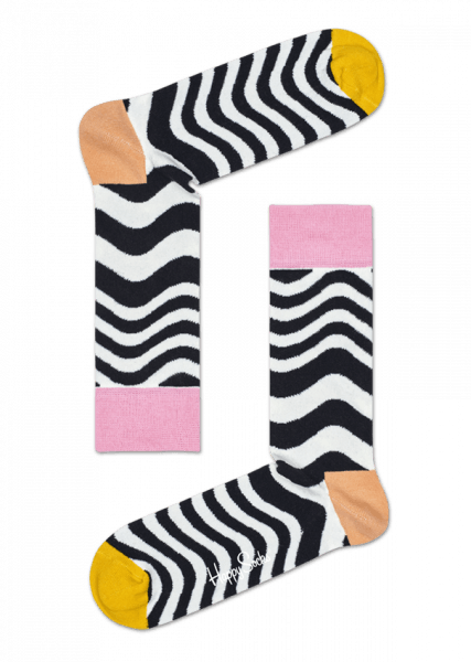 WAVY STRIPE SOCKS - LARGE