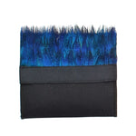 Peacock Feather Pocket Square