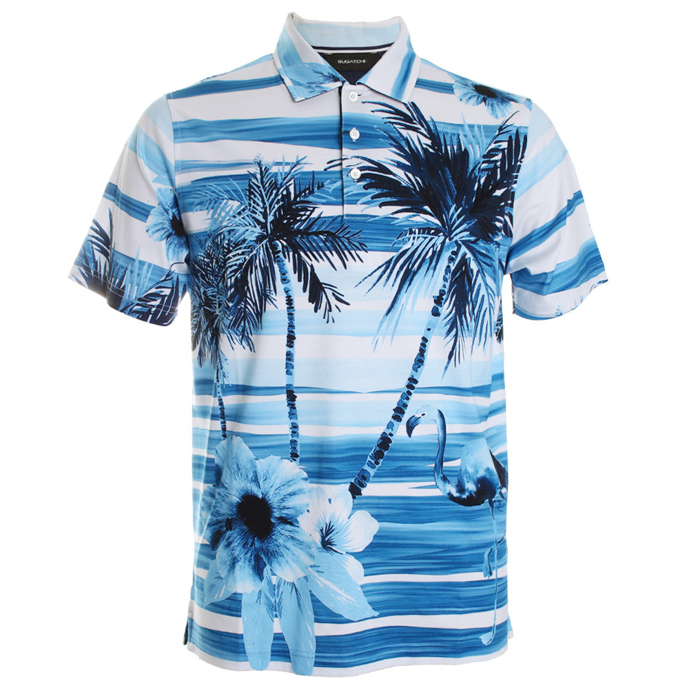 Tropical Printed Polo