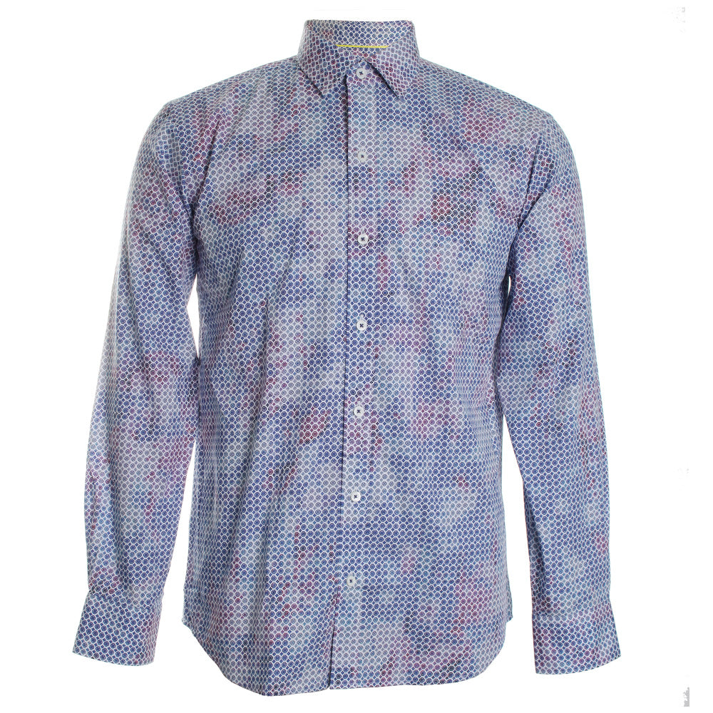 Mosaic Button Down Shirt