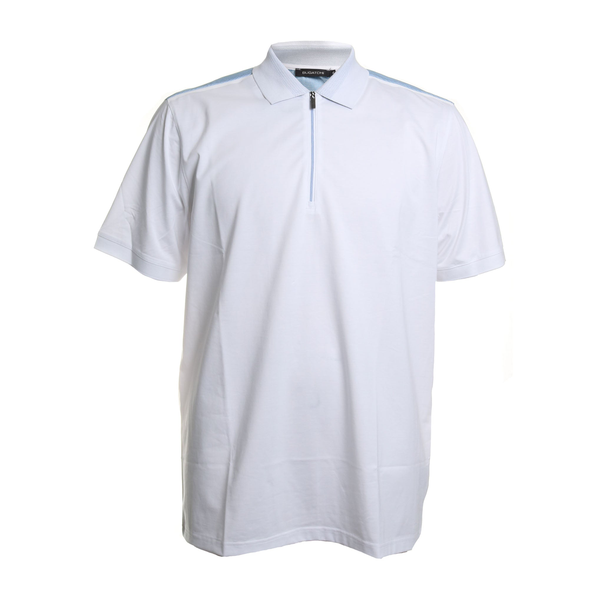 Short Sleeve Zipper Polo
