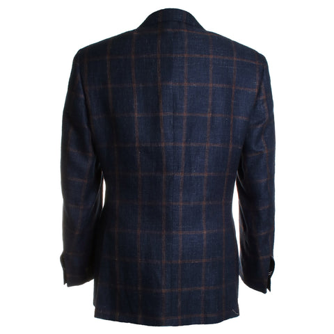 Window Pane Plaid Suit Jacket
