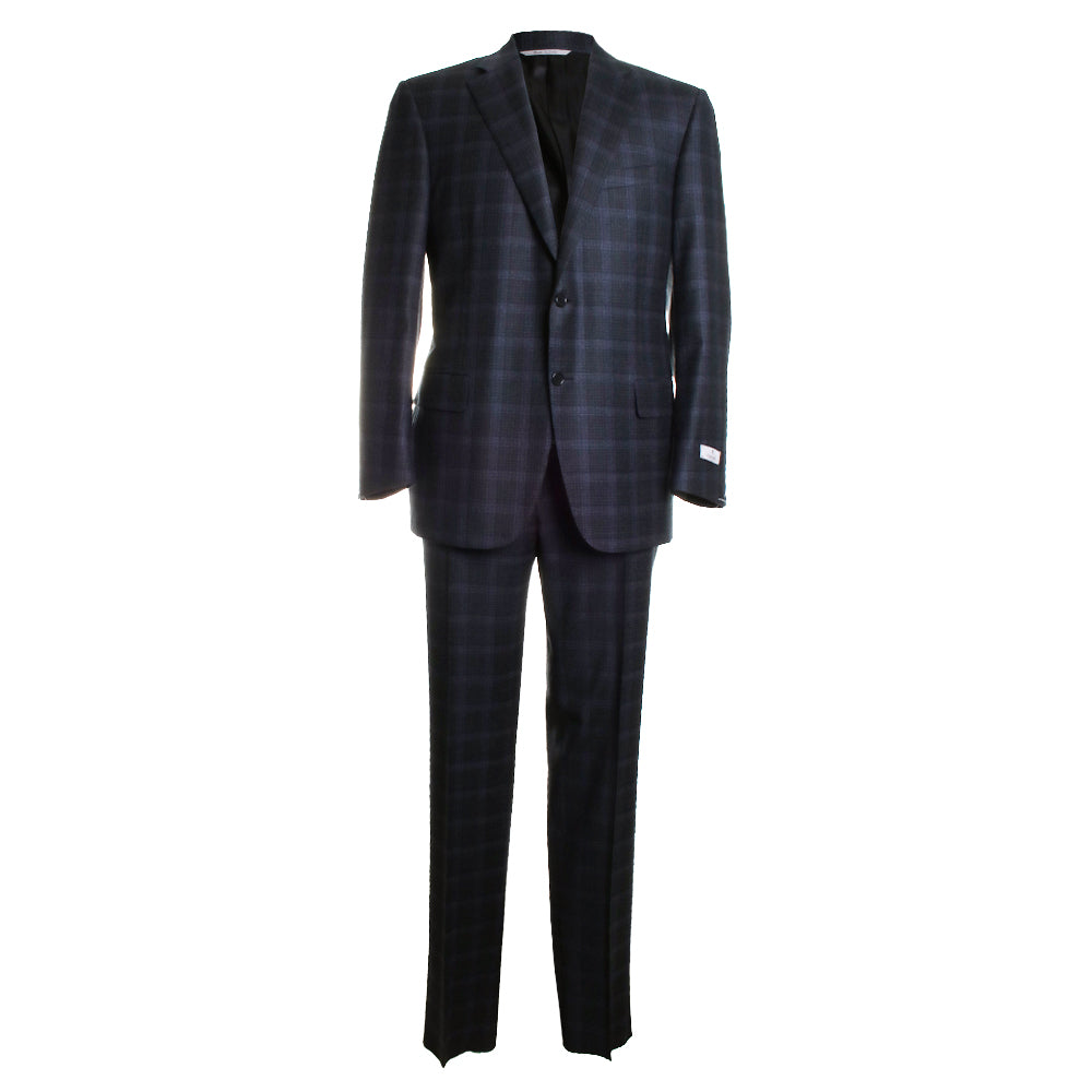 Plaid Wool Suit