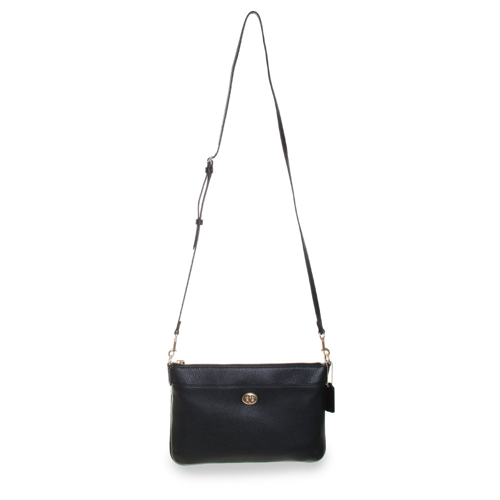 Polly Pebbled Leather Crossbody