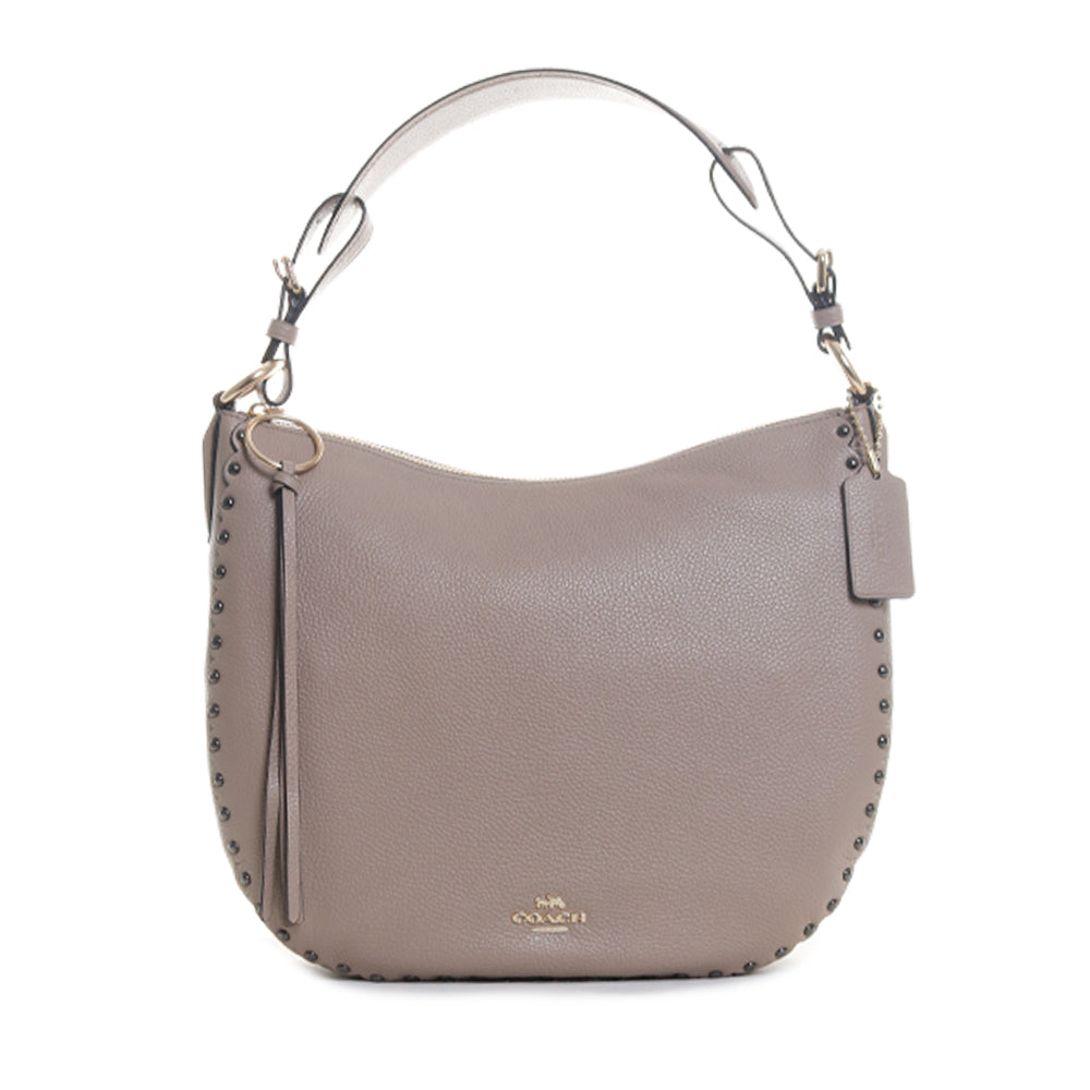 Sutton Scallop Rivet Hobo