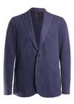 Laser Cut Jersey Sport Coat Jacket