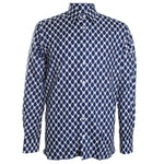 Polka-Dot Dress Shirt
