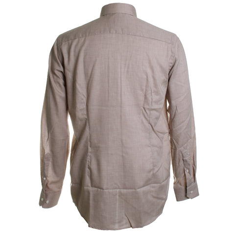 Cotton Twill Dress Shirt
