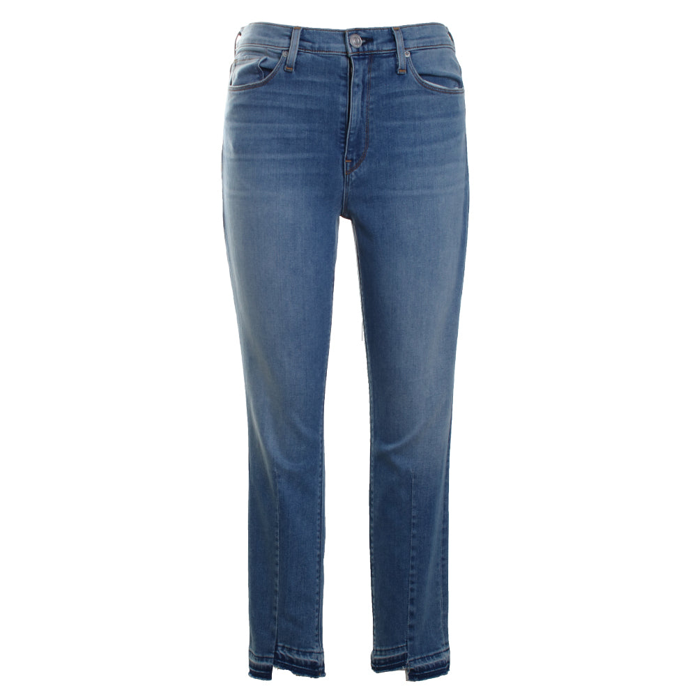 Barbara High Waist Cropped Skinny Jeans