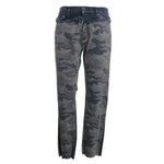 Barbara Camo Distressed High Waist Skinny Jeans