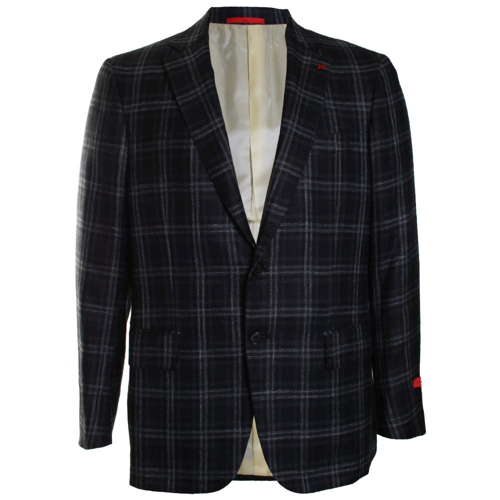 Plaid Wool Sportcoat