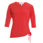 Ruched Front Blouse Top